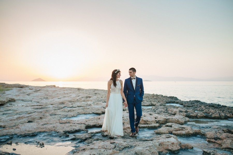 Wedding Photography in Aegena Island Greece