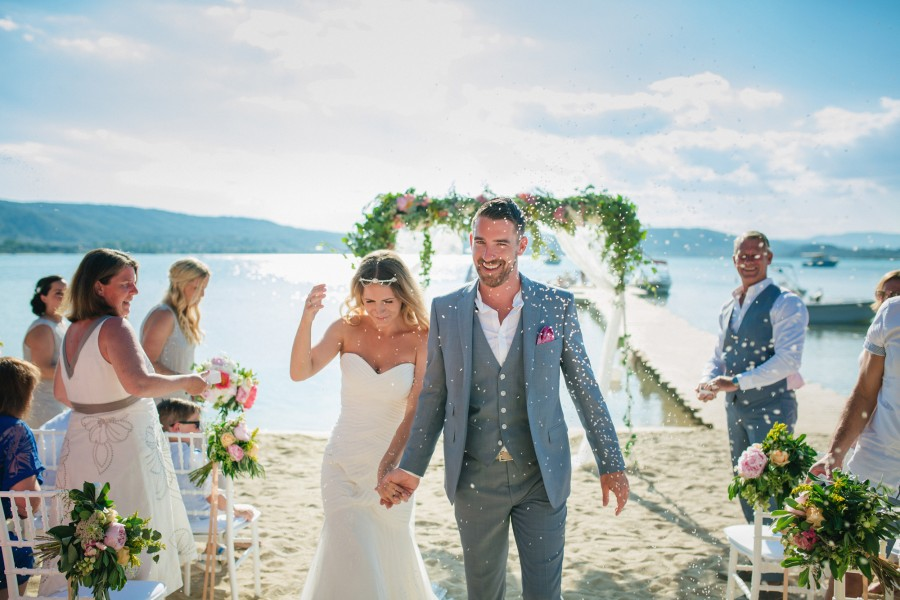 Destination Wedding photographer in Xalkidiki - Matt & Jade
