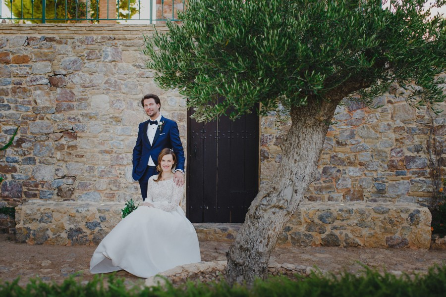 Wedding photography in Sounio Athens - Mary & Jan Wicher