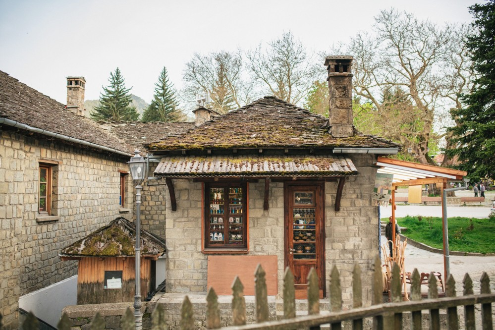 Destination Wedding photography in Metsovo