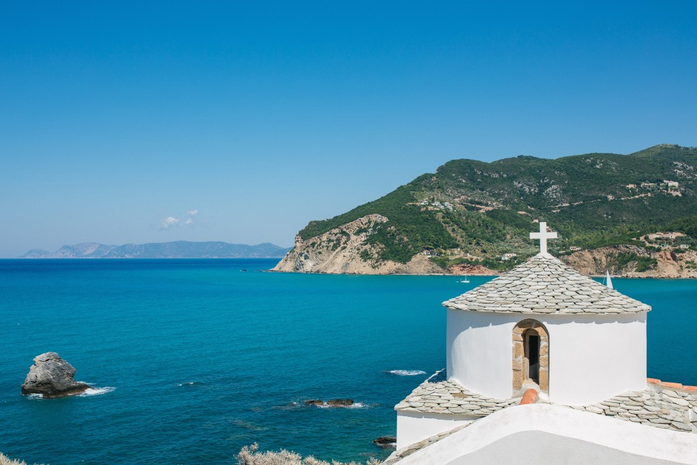 Greece Wedding photographer Skopelos Island | Wedding in Mamma Mia