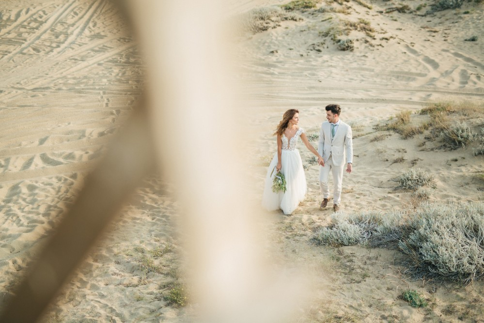 Destination Wedding photoshoot - Dimtiris & Voula