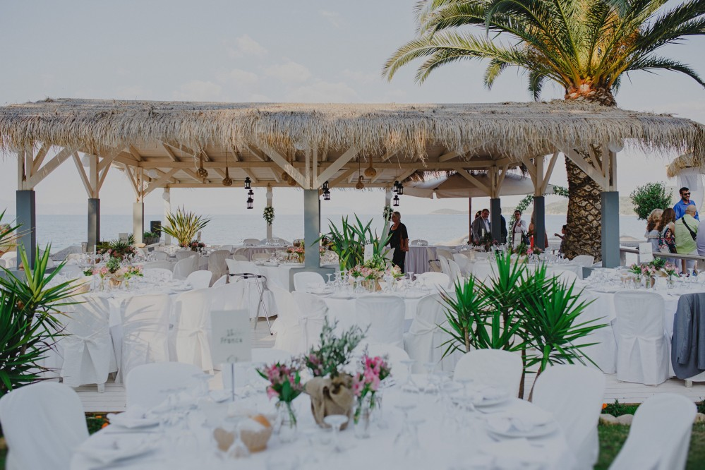 Beach Wedding Photography in Xalkidiki Greece | Margot & Lefteris