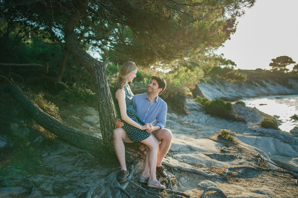 Pre-wedding photography in Chalkidiki - Asteris & Izabella