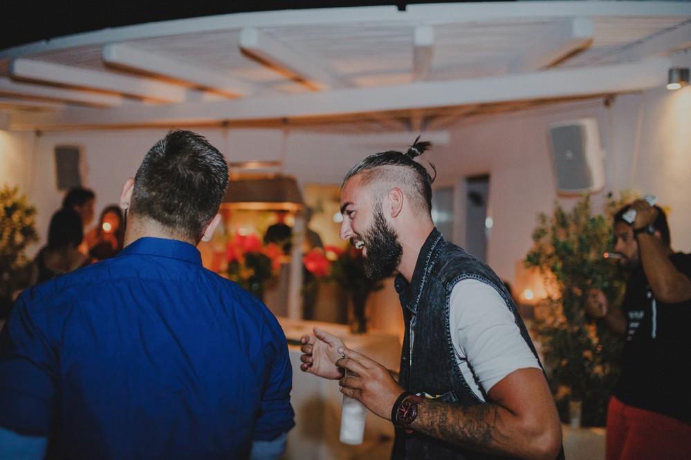 Greece  Mykonos pre-wedding photoshoot