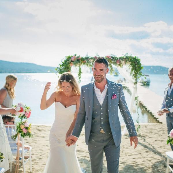 Destination Wedding photographer in Xalkidiki - Matt & Jade