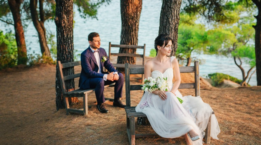 Greece Top wedding photographer in Chalkidiki - Themis & Olga