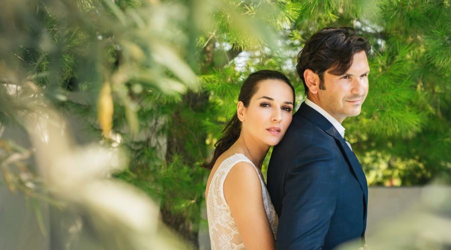 Wedding Photographers in Greek island - Paul & Machie